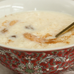 Süße Reissuppe schmeckt Kindern und Erwachsenen