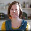 Screenshot vom Video mit Katharina