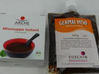 Bilder von Instant-Misosuppe und Misopaste