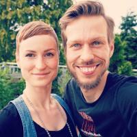 """Foto von Marco und Maria von """"Sauer macht glücklich"""""""