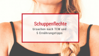 Schuppenflechte ist nach TCM Bluthitze. Behandlung: kühlen!
