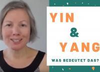 """Bild von Katharina aus dem Video und der Titel: """"Yin und Yang. Was bedeutet das?"""""""