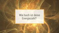 Wie hoch ist deine Energiezahl?