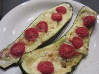 Zucchini-Pizzaschnitten