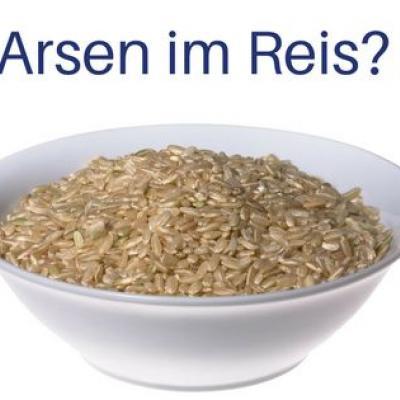 Arsen im Reis? Und ein Foto von Reis in einer Schüssel.