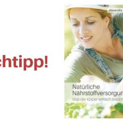 """Buchcover von """"Natürliche Nährstoffversorgung"""" von Alexandra Stross"""