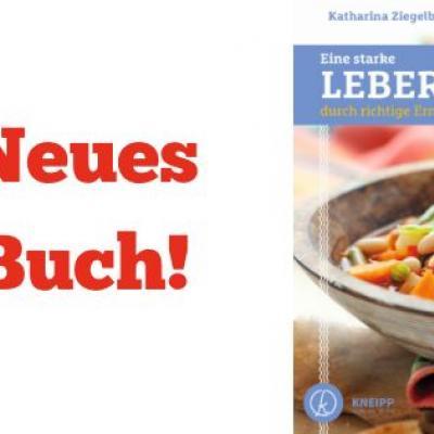 """Cover meines neuen Buchs """"Eine starke Leber"""""""