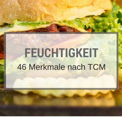 Feuchtigkeit: 46 Merkmale nach TCM