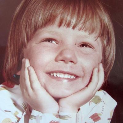 Foto von mir im Alter von 5 Jahren (privat)