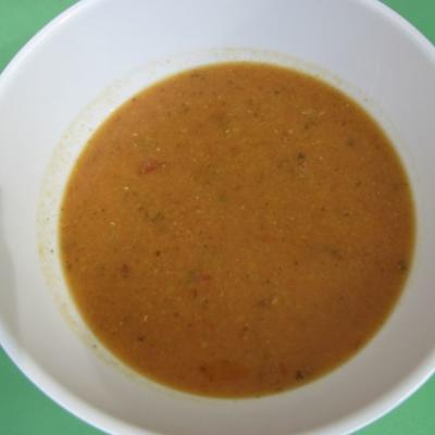 Linsen-Tomatensuppe - einfach und lecker