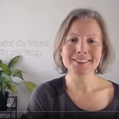 Ausschnitt aus dem Video mit Katharina über die Nieren nach TCM