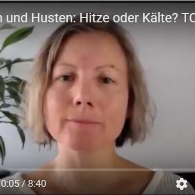 Screenshot vom Video zu Schnupfen und Husten mit Katharina