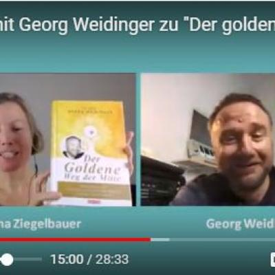 Bild aus dem Interview mit Georg Weidinger