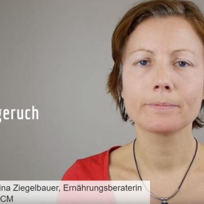 Ausschnitt aus dem Video zum Mundgeruch mit Katharina