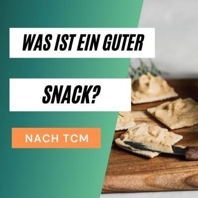 Was ist ein guter Snack? Vorschaubild des Videos mit einigen Crackern als Foto.