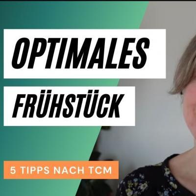 Optimales Frühstück, 5 Tipps nach TCM, Foto von Katharinas Gesicht aus dem Video